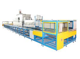 料篮自动回送式工业零件清洗流水线